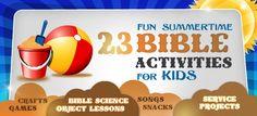 Bible Games - Fun, Faith Based Activities For Sunday School