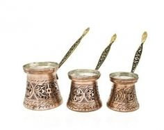 Turkish Greek Arabic Coffee Complete Set : 1 Copper Coffee Pot. 2 Porcelain Cups,2 Saucers You are getting everything to make and serve delicious Turkish Coffee with this set. POT : 1,5 mm Hammered Thick Copper Turkish Greek Coffee Pot (Thickest Coffee Pot Available,Do not accept lesser quality!). Hand Made in Turkey. This unique copper piece is hand made by experienced artisans in Turkey. Our copper smiths use the heaviest 1.5 mm copper (thickest coffee pots we have ever found) for their work Turkish Coffee Cups, Arabic Coffee, Turkish Tea, Italian Coffee, Christmas Gifts For Women, Gifts For Mom, Handmade Ottomans, Coffee Gifts, Handmade Copper