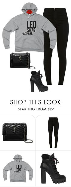 """🦁"" by sb187 ❤ liked on Polyvore featuring Yves Saint Laurent, Dsquared2 and Lime Crime"