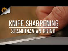 Precision Knife Sharpening in The Field - YouTube