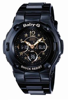 Black Casio baby G watch