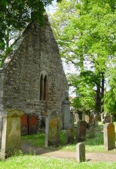 (St. Kilda Kirk and Kirkyard) Old Kirk at Alloway Scotland