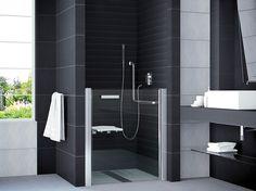 Duschtür Dusche behindertengerecht 100 x 99 cm Nischentür Dusche rollstuhlgerecht Duschtür nach Maß: im Sondermaß bis 100 cm