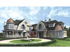 luxury house plans | An amazing Mansion Luxury Home Plan