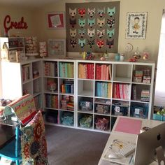 #my happy place #sewing room