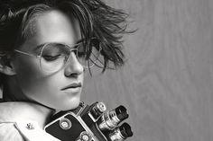 Kristen Stewart for Chanel's eyewear campaign // Photo: Karl Lagerfeld