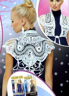 Duplet 119 Russian crochet patterns magazine