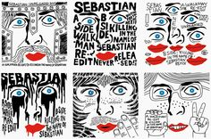 Remix covers for SebastiAn by So me