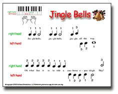 Christmas Pre-reader piano music- they also have some more advance stuff