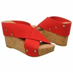 Need these for Cardinal Games! Lucky Brand Women's Miller2 Sandal - Mack Red shoes.com