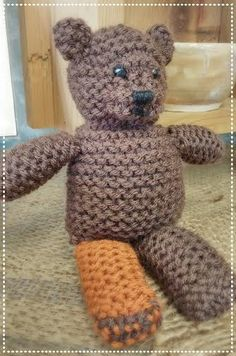 G-Stitch Bear completed!