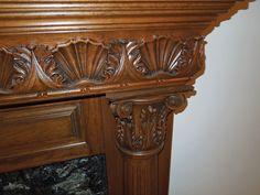 Wood carved trim for decorative products corner blocks, rosettes, onlays, mouldings, friezes, corbels, mantels, appliques.