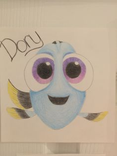 My Disney drawing – Baby Dory! The post My Disney drawing – Baby Dory appeared first on Woman Casual - Drawing Ideas Easy Disney Drawings, Disney Character Drawings, Easy Doodles Drawings, Disney Sketches, Pencil Art Drawings, Art Drawings Sketches, Cartoon Drawings, Cute Drawings, People Drawings