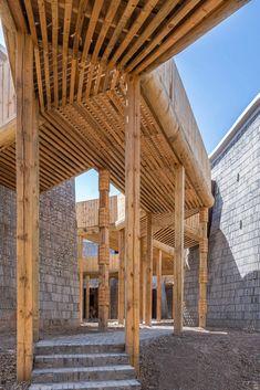 Studio Avoid designs Grotto Retreat Xiyaotou to evoke cave dwellings