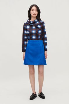9ec0c5f5fb6ea zoomed image Cos Shorts, Skirts With Pockets, Wool Skirts, Welt Pocket,  Short