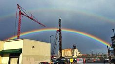 Your Pics: Rainbows over Portland March 20th