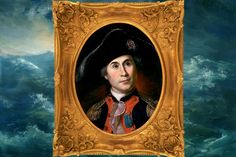 Displaced Scottish American JOHN PAUL JONES, who helped Russia conquer the Crimean Peninsula for first time (Daily Beast). Naval Flags, Us Sailors, John Paul Jones, Catherine The Great, Marquess, Napoleonic Wars, Royal Navy, Beast, Russia