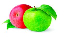 Яблоко (47 кал. – 100г.) один из самых употребляемых фруктов в мире. Используется во многих диетах....