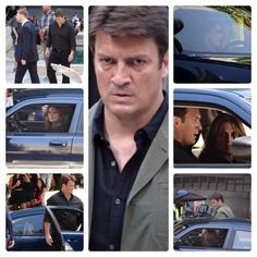 #castle #bts #season7episode2 #nathanfillion