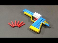 Paper Gun - How To Make A Paper Revolver With Trigger That Really Shoots | - YouTube
