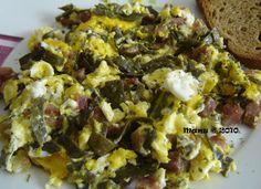 Degusta+ Exquisitos Platos y Tapas: Revuelto de espaguetis de mar con jamón