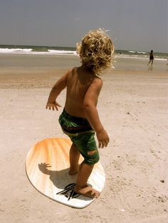 Awww... this looks like it could be Adam Wade and Amanda's Lil' Surfer ! too cute