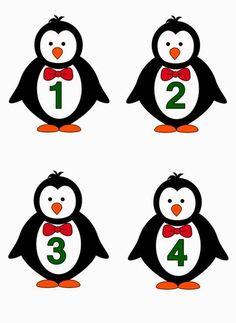 Preschool Learning Activities, Preschool Themes, Preschool Crafts, Letter P Crafts, Kindergarten Design, Polar Animals, School Decorations, Animal Cards, Math Games