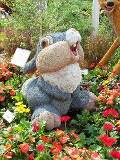 Flower & Garden Festival topiary