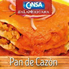 #Cinsa #CinsaALaMexicana #Recetas #Mexicanas #RecetasMexicanas #México #Comida #ComidaMexicana #peltre #MarcasMexicanas #PanDeCazon #Campeche