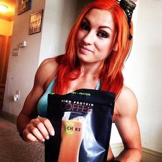 Becky Lynch @wwebeckylynch Absolutely love t...Instagram photo |... ❤ liked on Polyvore