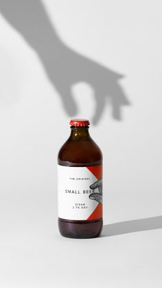 Kingdom & Sparrow wins first place at Dieline consumer packaging awards for Small Beer, in the low abv and non alcoholic category.