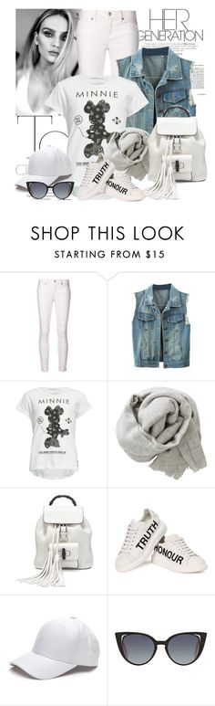 """Casual Feeling"" by aliceinwonderlandxx ❤ liked on Polyvore featuring Paper Denim & Cloth, WithChic, Neff, Brunello Cucinelli, Gucci, Alexander McQueen and Fendi"