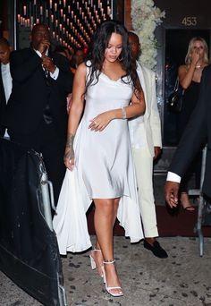 September 14: Rihanna leaving the Diamond Ball in New York