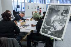 Opening Dysfunctional Matters met workshop Dysfunctional Drawing van The Open Draw © Geert Fotografeert / Corrosia Stad