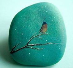 Painting on Stones Is a Craft That Rocks! is part of Tole Painting crafts - Learn about painting on stones and how to get started with your rockin' new hobby! Pebble Painting, Tole Painting, Pebble Art, Painting On Stones, Painting Stencils, Painting Patterns, Painting Tips, Stone Crafts, Rock Crafts