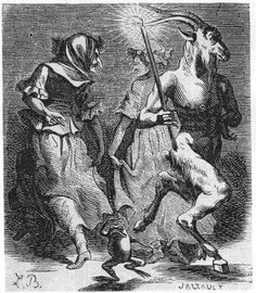 Jaques Augstine Simon's representation of a devil's frog kicking habit is seen clearly in this illustration from the Dictionarie Infernal {c.1794