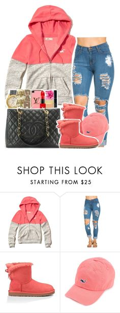 """."" by clinne345 ❤ liked on Polyvore featuring Hollister Co. and UGG Australia"