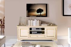 Comoda port TV face parte din colectia Marco Polo. Este o  piesa de mobilier  eleganta care poate fi incadrată  într-un ambient cu stil rustic, clasic sau neoclasic. Ofera spatiu pentru depozitarea si organizarea lucurilor marunte. Este realizata din lemn masiv . #furnituredesign #furnitureonline #furnitureshopping #homedeco #homedecor #homedesign #comodaalba #comodadormitor #mobiladormitor #mobilalemn #comodatv #comodaliving #comodasufragerie E Online, Tv, Stil Rustic, Entertaining, Console, Furniture, Design, Home Decor, House Art