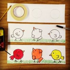 Mixing Colors with Little Artists | Art Projects for Kids | Bloglovin'