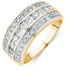 1carat diamond ring Michael hill