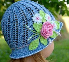 Crochet Cloche Hat Pattern Free