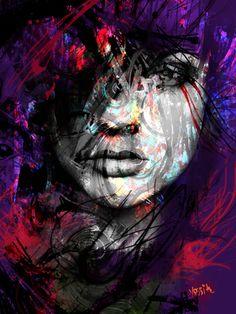 """Saatchi Online Artist yossi kotler; Mixed Media, """"compulsive layers"""""""