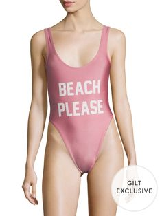 PRIVATE PARTY Beach Please One Piece Swimsuit