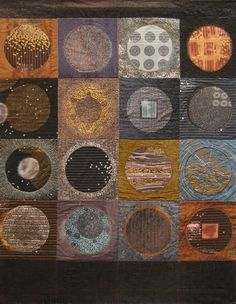 Gallery: Quilts- Planets by Lonni Rossi