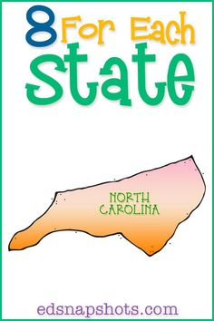 US Geography North Carolina-books, videos, and activities
