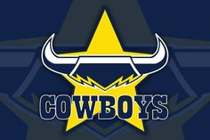 Show your support for the North Queensland Cowboys! Rugby Memes, National Rugby League, Interior Blogs, Airlie Beach, Queenslander, Faith Hope Love, Chevrolet Logo, Cheerleading