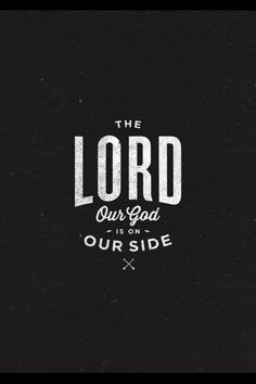 God is always on our side forever and ever