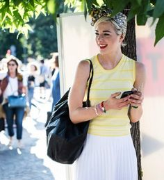 22 Easy Outfit Formulas That Make Labor Day Dressing a Snap via @WhoWhatWear