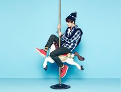 Jae Joong IN NII FALL 2013 CAMPAIGN
