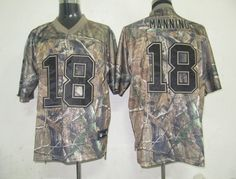 Reebok NFL Jersey Indianapolis Colts Peyton Manning #18 Camo  $25.00